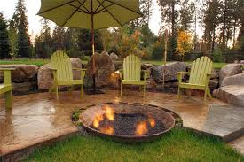 Unique Fire Pits by Fire Pit Mead Wa Photo Gallery Landscaping Network