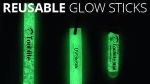 Glow In The Dark Lights Uv Paqlite Glow In The Dark Lights Reusable Glow Sticks