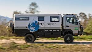 mitsubishi fuso camper earthcruiser 4x4 review with price photos and horsepower