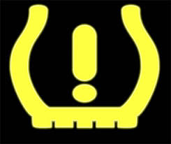 tyre pressure monitor warning light tire pressure at fault in 5 percent of accidents study