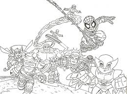 super hero squad coloring pages free coloring pages ideas