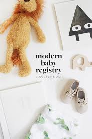 baby register modern baby registry almost makes
