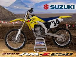 2008 suzuki rm z250 intro photos motorcycle usa
