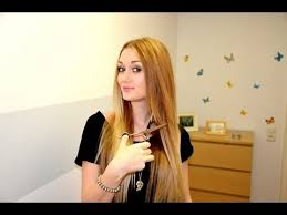 Stufenschnitt Lange Haare by Haare Selbst Schneiden Stufenschnitt Leileistyle
