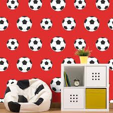 Bedroom Wallpaper For Kids Kids Boys Wallpaper Cars Space Football Graffiti Childrens Room