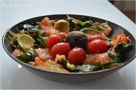 cuisine japonaise recette facile recette de cuisine salade japonaise au saumon cru