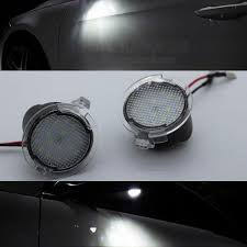 ford fusion hazard lights 2x high power white led side mirror puddle lights for ford fusion
