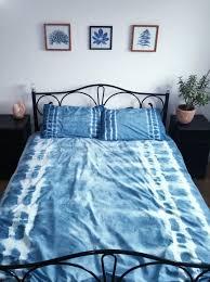 shibori bedding tie dye pillowcases boho home decor