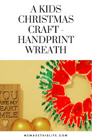 a great kids craft activity for christmas time and the perfect