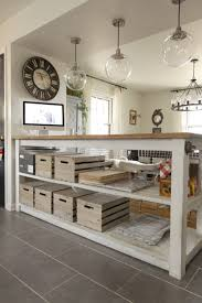 industrial kitchen island with storage from crates pallets custom industrial kitchen island with crates pallets crates for storage