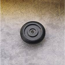 parts unlimited black idler wheel w bearing 0411671 snowmobile
