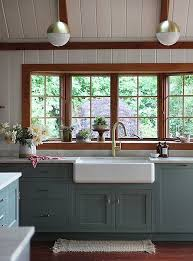 french blue kitchen cabinets painted country kitchen cabinets playmaxlgc com