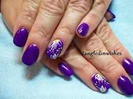summer flowers nail art design nail art gallery