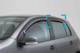 Exterior Door Rain Deflector by Side Wind Deflectors Car Parts Expert