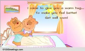 get well soon for children get well hug free get well soon ecards greeting cards 123