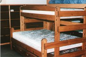 bed loft bed with queen underneath
