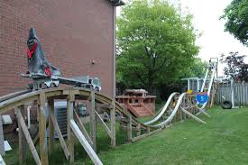 backyard roller coaster