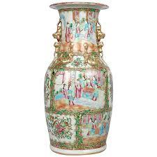 Meissen Vase Value Large 19th Century German Gilt Trimmed Meissen Porcelain Vase For
