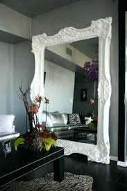 home interior mirrors frames for bathroom mirrors 1 mirror white frame with regard to