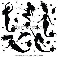 free vector fairytale character silhouettes free commercial
