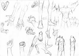 anime body sketch art drawing art library