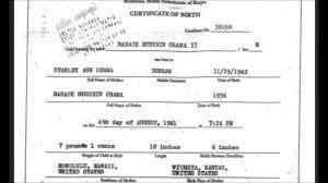 fake birth certificate secret addendum to iran deal just obama u0027s kenya birth certificate