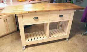 kitchen kitchen carts on wheels kitchen island table movable