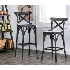 stools grey faux leather counter stools brooke leather counter