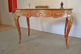 le de bureau ancienne bureau plat de style louis xv antic