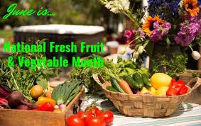 fruit of the month june is national fresh fruit vegetable month soak hot tubs