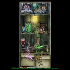 halloween laboratory props zombie laboratory horror refrigerator door cover scary halloween