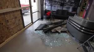 damage from car crash into bam style hair salon duluth minnesota