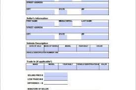 basic bill of sale template for motor vehicle templatezet
