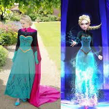 elsa coronation dress halloween costume disney frozen