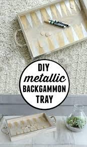 diy tray diy backgammon game tray hello splendid