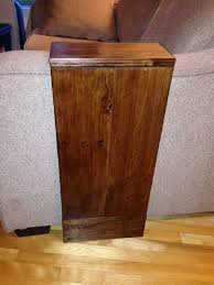 fancy side tables round cross leg side table walnut 399 modular