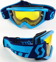 motocross goggles ebay 2016 scott recoil xi motocross goggles blue with goggle shop