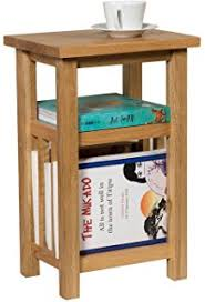 tall side table with drawers oak finish end table solid wood hard wood l table 1 drawer