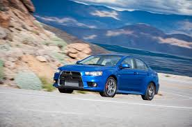 blue mitsubishi lancer a cult education 2015 mitsubishi lancer evolution mr
