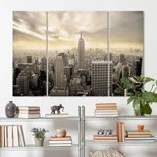 wohnzimmer new york wandbild mehrteilig wohnzimmer boikal leinwandbilder xxl111 1