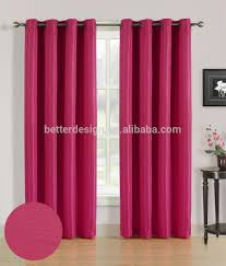 1pc jacquard wholesale window curtains for manufactured home with