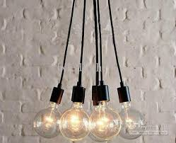 Y Edison Chandelier Light Pendant Lamp Ceiling Hanging 7 Bulbs