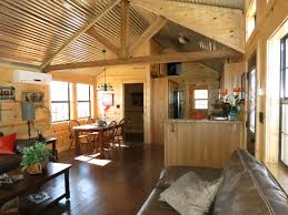 log homes interior the lone star log cabin off the grid home