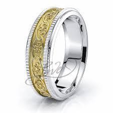 celtic ring celtic wedding bands adele floral celtic ring comfort fit 6mm