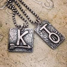 Custom Silver Pendants The Ranchers Wife Custom Brand Necklaces Fine Silver Pendant