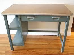Small Vintage Desk Industrial Metal Desk Details About Vintage Desks Onsingularity