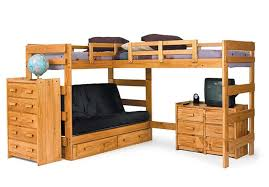 Wood Bunk Bed With Futon Best Bunk Beds 2017 Reviews And Buyers Guide