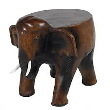 Low Side Table Elephant Stool 11