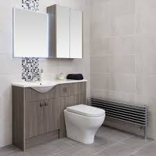 Plain Bathrooms Quebec Plain Silver Ceramic Wall Tile 315 X 450mm Easy Bathrooms