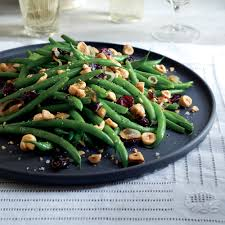 green bean dish for thanksgiving green beans with dried cranberries u0026 hazelnuts recipe myrecipes